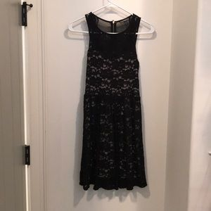 Black Express Lace Dress